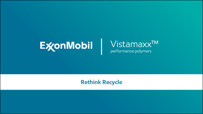 VistamaxxTM performace polymers empower designers to consider end-of-product-life recycling.