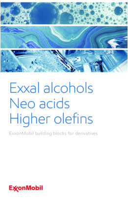 Learn more about property information for branched alcohols, Neo acids, and branched higher olefins.