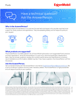 Have a technical question? Ask the AnswerPerson